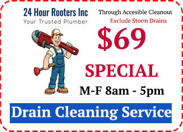 Drain cleaning service discount coupons