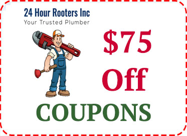 Plumbing service coupons in Palmdale Ca